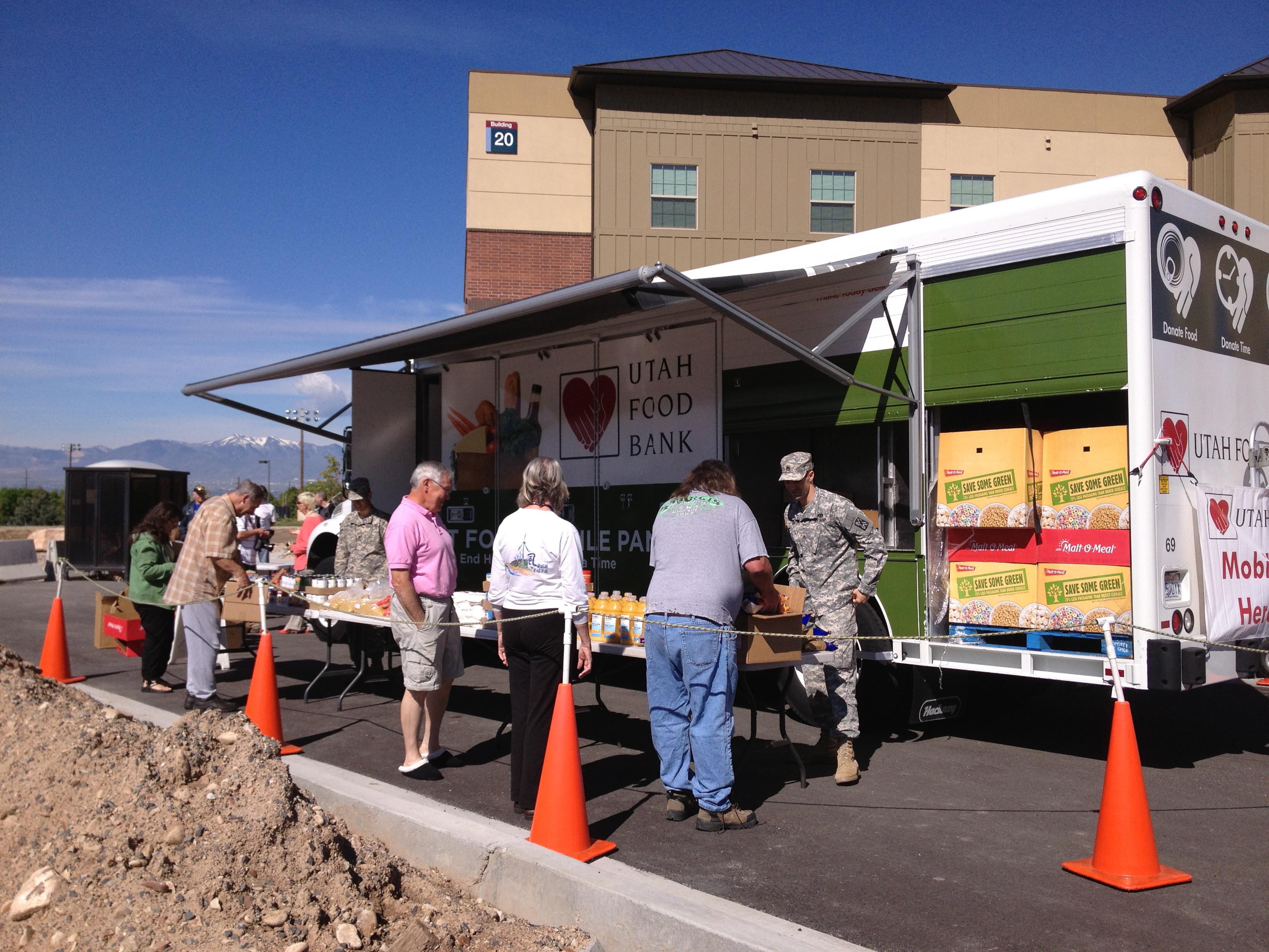 Mobile Pantry Utah Food Bank