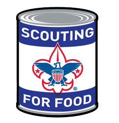 Boy Scouts Scouting For Food  Flyer
