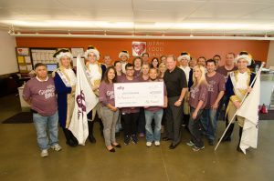 Ally Financial Donation