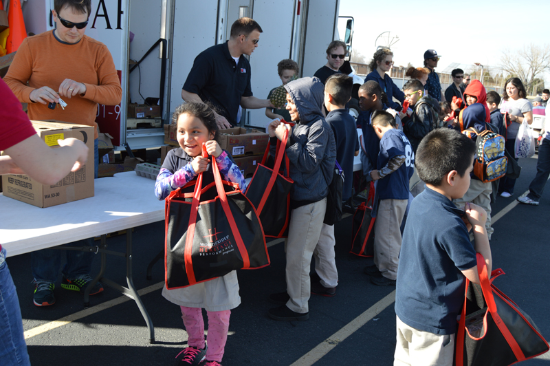 Mobile School Pantry