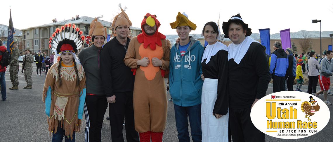 Utah Human Race Costumes