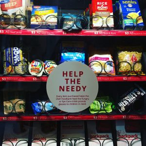 Charity Vending Machine 2