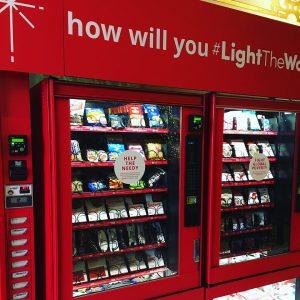 Charity Vending Machine