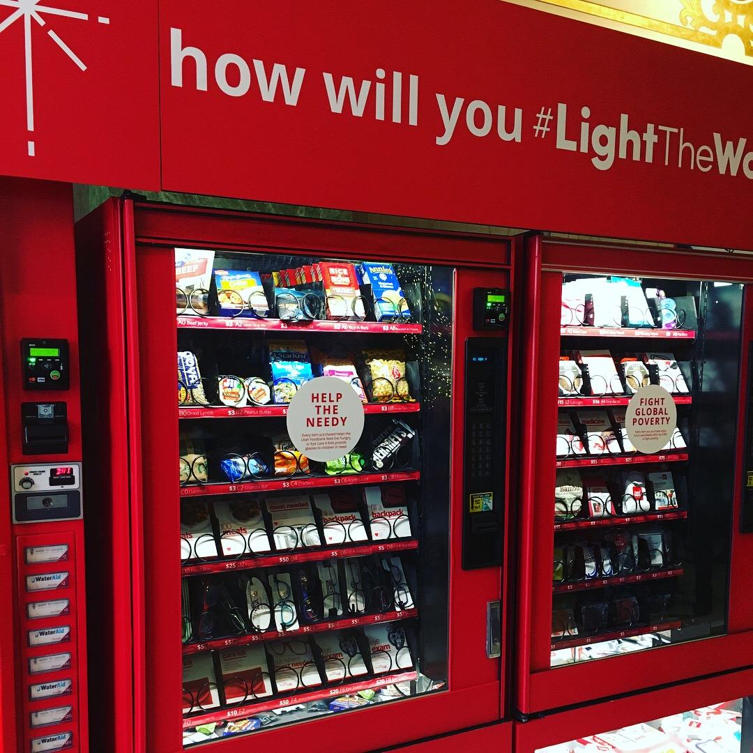 charity vending machines raised over 500k to light the world utah